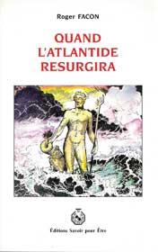 livre Quand l'Atlantide resurgira