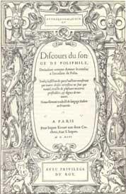 livre Discours du songe de Poliphile
