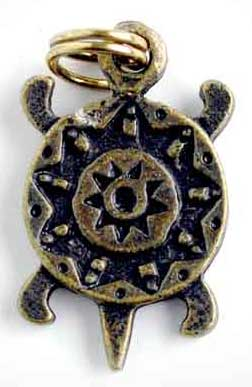 médaille tortue totem