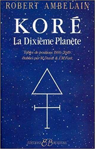 Kore, La dixième planète