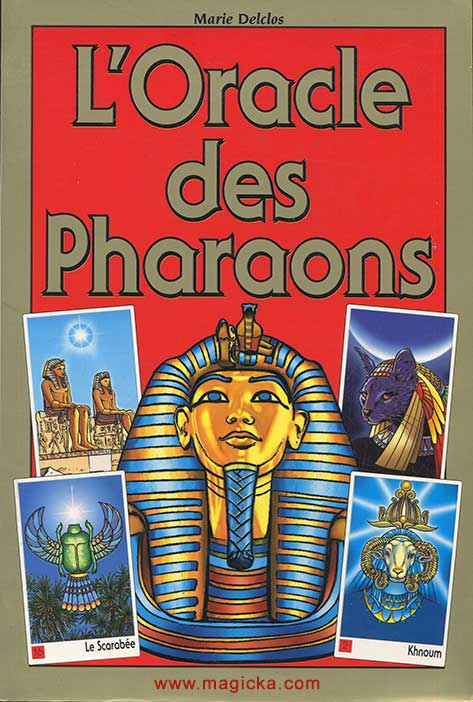 L'Oracle des Pharaons, Marie Delclos