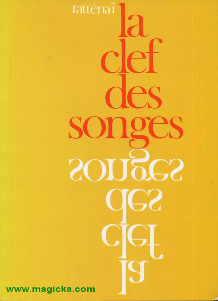 livre La Clef des Songes
