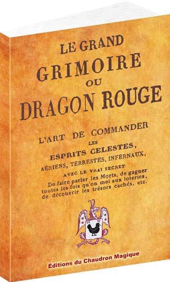 le dragon rouge grimoire