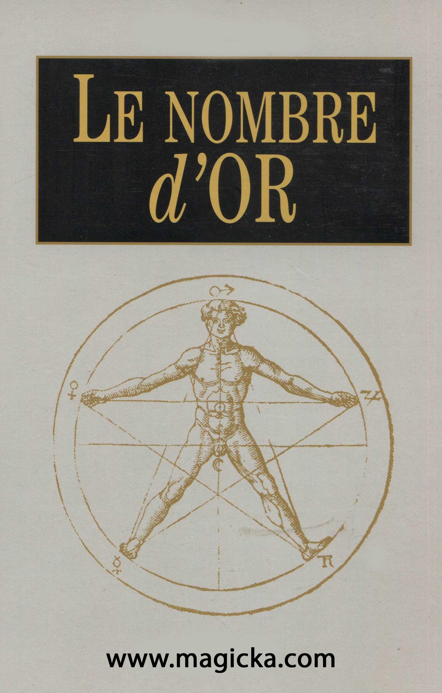livre Le Nombre d'Or