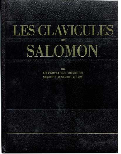 les clavicules de salomoon livre