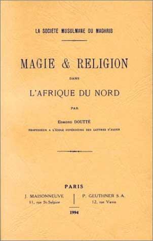livre Magie en Afrique du Nord