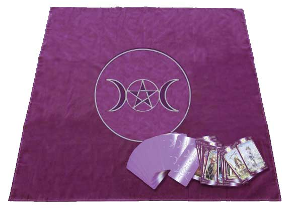 Tapis de Voyance cercle wicca paein