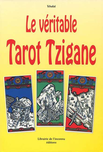 18 € Le Véritable Tarot Tzigane livre