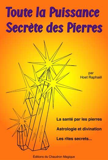 livre Toute la Puissance Secrète des Pierres